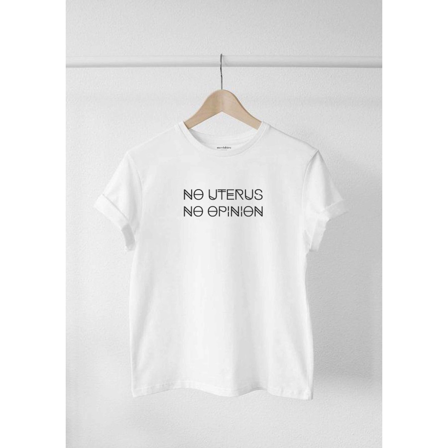 CAMISETA NO UTERUS, NO OPINION